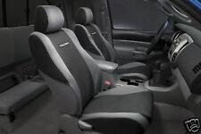 2005 - 2008 Toyota Tacoma Black 2 Bucket Seat Covers Genuine OEM |