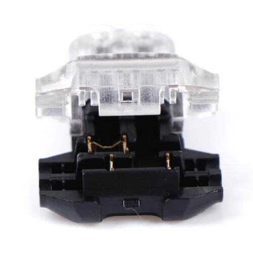 5Pcs 2 Pin T Shape Universal Compact Wire Wiring Connector Terminal Block