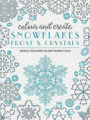 1 of 1 - Colour and Create: Snowflakes, Frost and Crystals by Bounty
