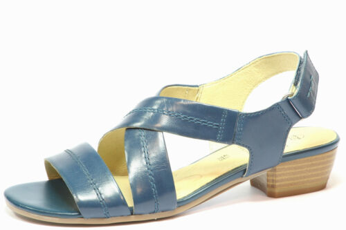 Femmes Sandales Caprice 28280 Bleu Marine Tailles UK 3.5 /& 4.5