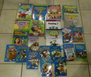 Abeka-2nd-Grade-Curriculum-Lot-Books-Reading-Arithmetic-Readers-Home-School-2019