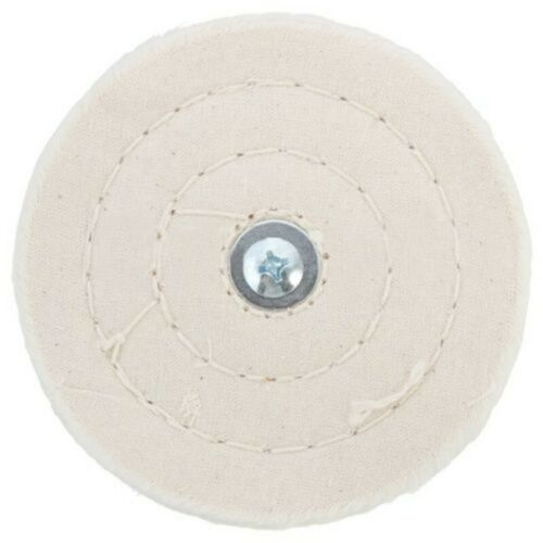 4inch Buffing Wheel 100mm Mop Pad For Power Battery Drill Stainless steel