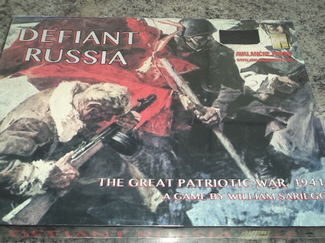 Defiant Russia The Great Patriotic War 1941 Avalanche Press War Board Game New