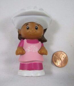 Fisher Price Little People Zoo Hispanic Girl Mia Monkey Dress