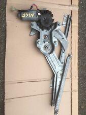 MGF NEARSIDE PASSENGER LEFT ELECTRIC WINDOW MECHANISM REGULATOR AND MOTOR