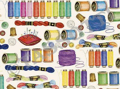 Tassotti Sewing Wrapping Paper