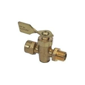 1/4 Inch NPT Male and Female Threaded Ports Fuel Shut Off Valve for Boats