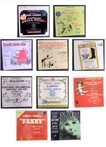 Lot-of-10-LP-Vinyl-Records-Orignal-Cast-Musicals-Walking-Harry-Flower-Drum-Song