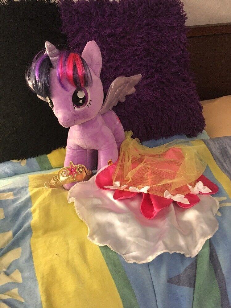 Build A Bear Twilight Sparkle My Little Pony MIT CAPE & KRONE NEU (AUS USA)