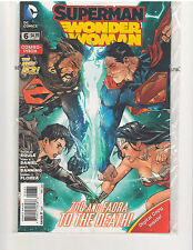 SUPERMAN WONDER WOMAN #6 COMBO PACK NEW 52 (May 2014, DC Comics)
