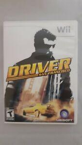 Driver-San-Francisco-Nintendo-Wii-2011-Complete-Game-Disc-Case-Manual
