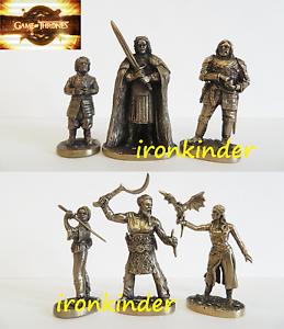 Game of Thrones TV show  bronze metall collectible miniature figure 40mm