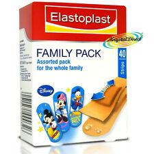 Elastoplast Disney Kids Family Pack 40 Assorted Plasters