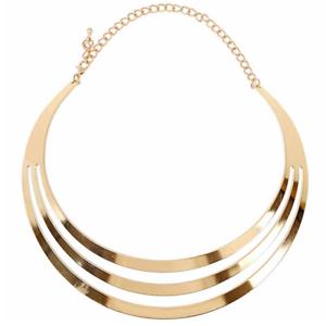 Fashion-Gold-Silver-Chain-Choker-Chunky-Declaration-Bib-Collier-Bijoux-Collier