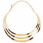 Fashion-Gold-Silver-Chain-Choker-Chunky-Declaration-Bib-Collier-Bijoux-Collier miniature 1