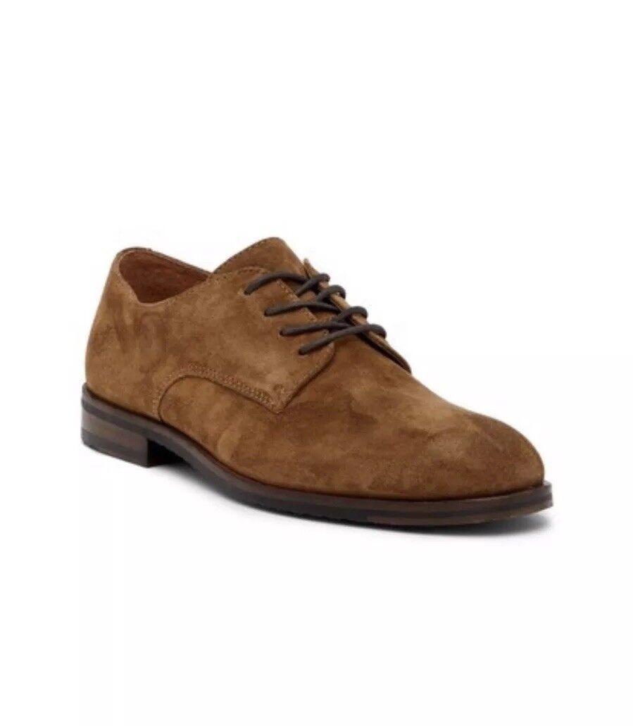 NIB Frye Sam Suede Derby - 82297 - Chestnut marrón - Talla 9 M
