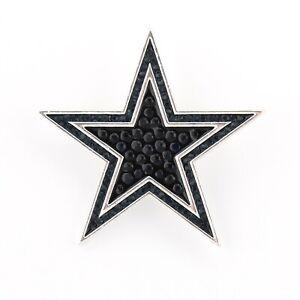 DALLAS-COWBOYS-Pin-Brooch-Bling-SPARKLE-amp-SHINE-NFL-Football