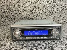 Jvc Car Radio Stereo Cd Player Model Kd-S901r With Rds Silver With Blue Display