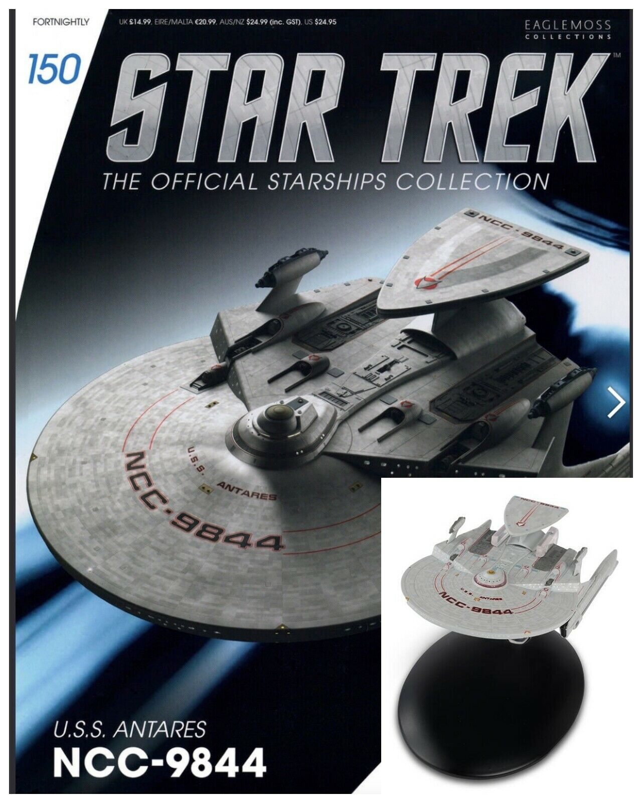Issue 150: USS Antares NCC-9844 Starship