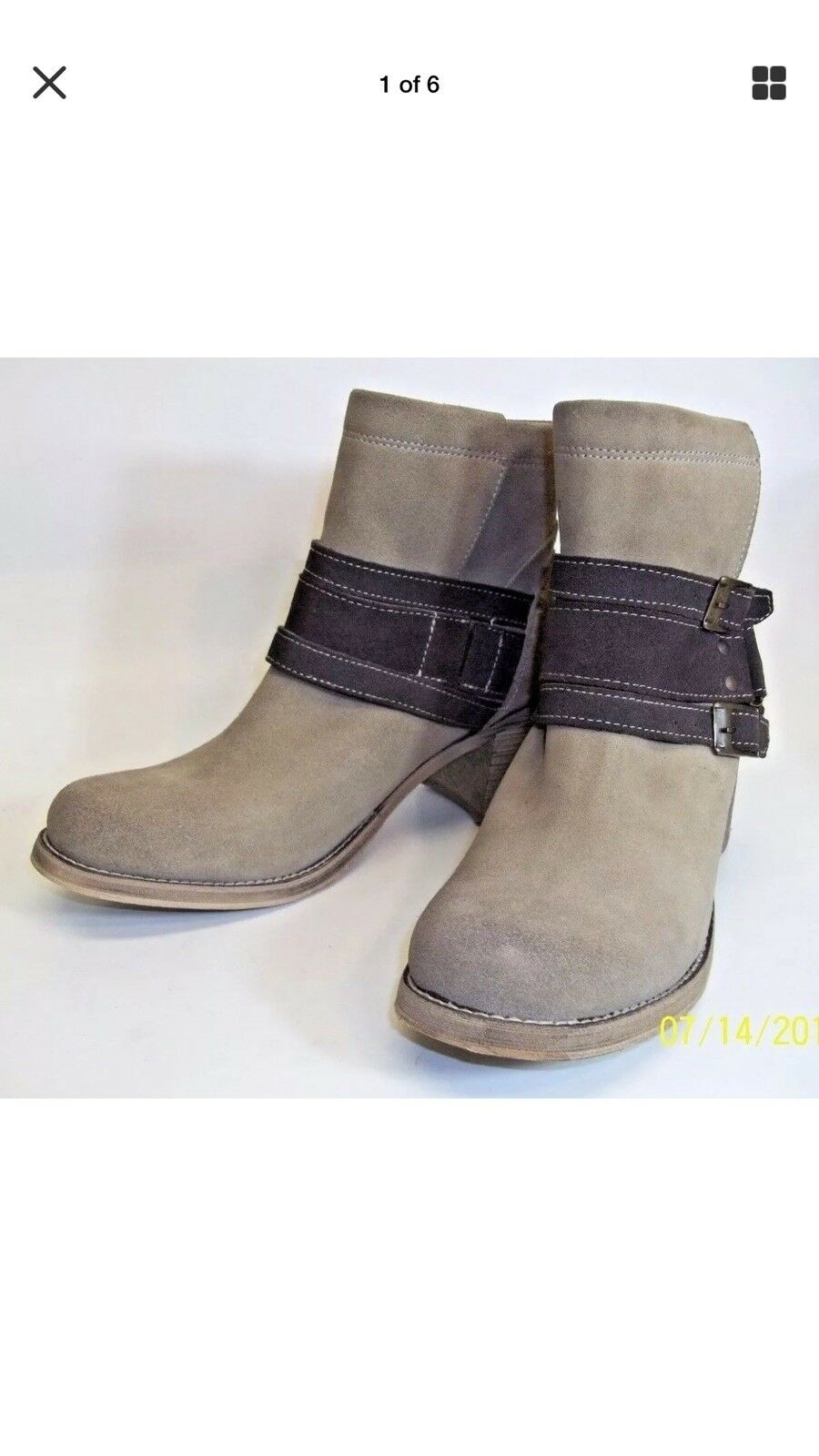 Bed Stu Bench Made Womens Boots US 9 Free People Brown Leather Suede NEW 1582