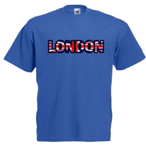 London CHILDREN/'S Kids Childs T Shirt