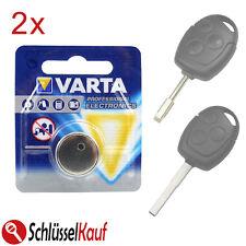 2x VARTA batteria chiave per FORD FIESTA FOCUS MONDEO TRANSIT chiavi della macchina