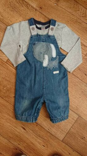 Multi Listing Next BlueZoo Dungarees Age 12-18 Months