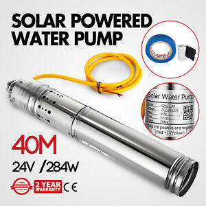 24v Stainless Solar Powered Water Pump Farm Amp Ranch
