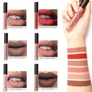 FOCALLURE-Matt-Lippenstift-Wasserdicht-Long-Lasting-Lippen-Stift-Gloss-Make-up
