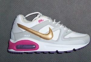 Image is loading NIKE-AIR-MAX-COMMAND-GS-White-Olympic-Gold- 54ba9ed31