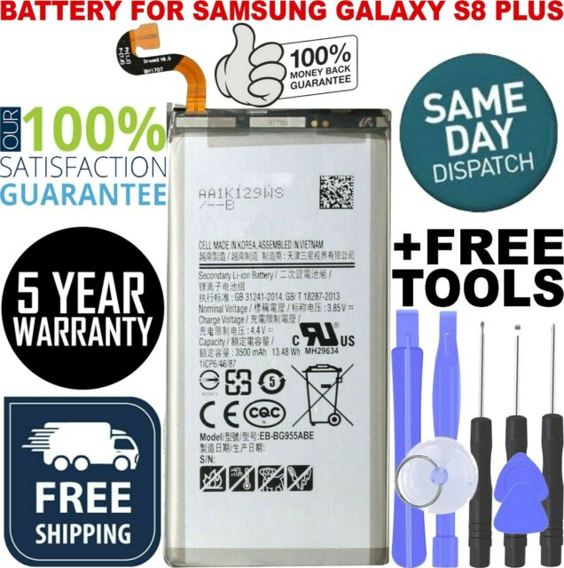 Replacement Samsung Galaxy S8 PLUS Battery 3500mAh EB-BG955ABE G955W with Tools