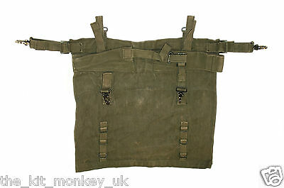 British Military Army 1944 '44 pattern Jungle webbing Pistol Holster - Used -A2