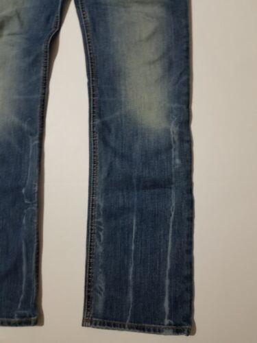 Mesurer Sz Vero droit waist 31 31 Tre Tag Distressed Jean 30x30 Slim entrejambe qYxw4v