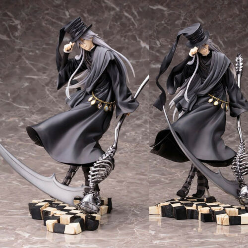 Black Butler Kuroshitsuji Book Of Circus J Undertaker PVC Figure Statue Decor