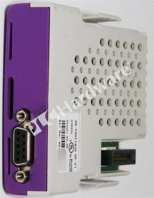 Control Techniques SM-PROFIBUS DP-V1 EMERSON Fieldbus Solutions Module