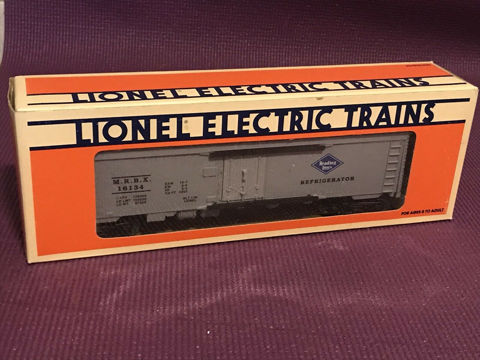 1994 Lionel 6-16134 Reading Lines Reefer (NIB)