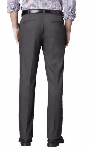 Van Heusen Men/'s Pants 32 36 or 42 Flat Front Waist Slacks New $65