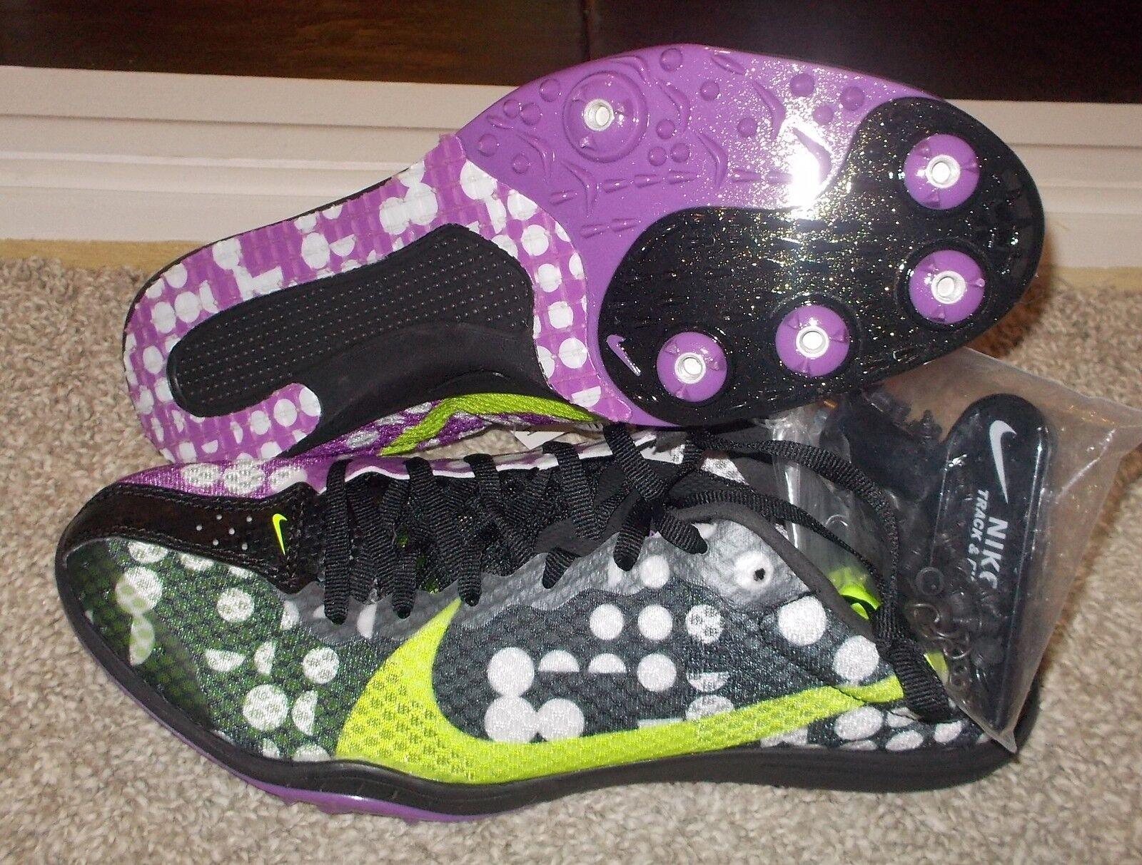 Nueva Nike Zoom Track volt074 & Field mujer Negro volt074 Track 075 bb8509
