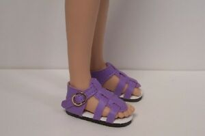 BLUE Strappy Sandals Doll Shoes For Hopscotch Hill Collection DEBs DK Dark
