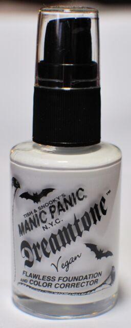 Manic Panic Goth White Dreamtone Vegan Liquid Flawless Foundation New Gothic