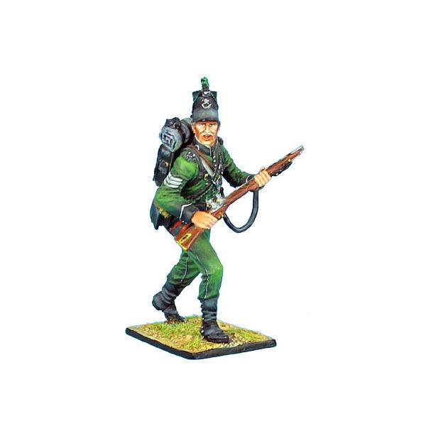 FIRST LEGION NAP0279 British 95th Rifles Sergeant, Painted Diecast Metal NAP279