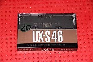 1 SEALED SONY  UX  S  90  VS VI  BLANK CASSETTE TAPE