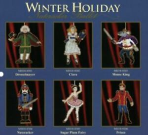 Mill-Hill-Beaded-Kits-NUTCRACKER-BALLET-ORNAMENTS-YOU-CHOOSE