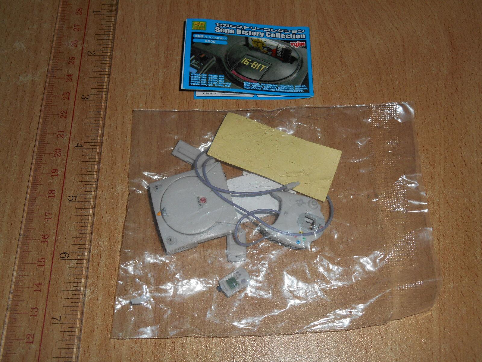 Yujin SR Sega History Collection Gashapon Gashapon Gashapon Dreamcast ac4f9c