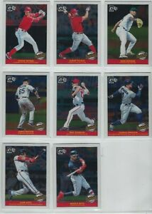 2019-PANINI-DONRUSS-BASEBALL-HIGHLIGHTS-INSERTS-COMPLETE-YOUR-SET