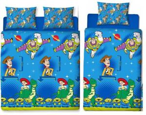 Toy-Story-Friends-Single-Double-Reversible-Duvet-Cover-Bedding-Official-Disney