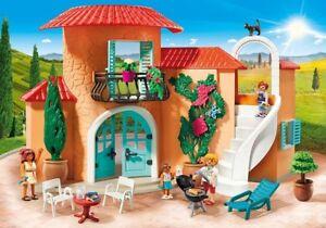 Playmobil Family Fun 9420 Villa De Vacances - Maison Avec Meubles