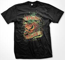 Trick or Treat Halloween Jack O Lantern Pumpkin Candy Door Scary Men's T-Shirt