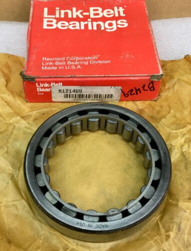 LINK BELT M1214UV ROLLER BEARING 70MM ID X 125MM OD X 24MM WIDE NEW IN BOX