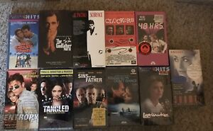 Factory-Sealed-Vhs-Lot-Action